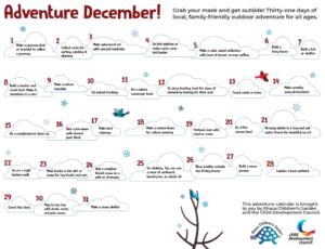 Adventure December Calendar